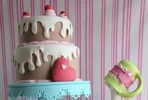 Cupcake en taart