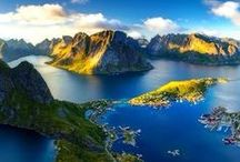 Sweden, Norway, Findland, Denmark