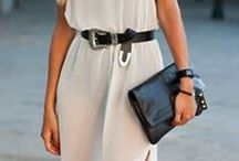 Ladies Style Inspiration / Style inspiration from women wearing belts.