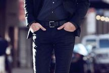 Gents Style Inspiration / Style inspiration from gents wearing belts.