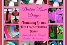 Amazing Grace Awareness Projects / Crochet projects for charities, friends, anyone who needs to feel good about what we do, and it helps others at the same time.