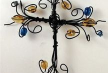 Wire, Beads & Metal Crafting / Using wire and beads for crafts / by Theresa Humphry a.k.a. Nature Nanny