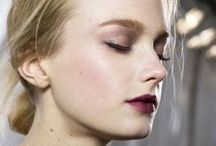 Editorial Beauty. / inspiring looks and faces. / by Kailee Baylor