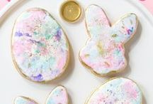 Bakespiration | Easter + Spring / The beauty of pastels, new beginnings & flowers starting to bloom again. Dreamy colors!
