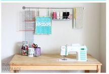 Dream studio / The sewing studio of my dreams.