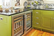 Gorgeous Green Kitchens / by Cheryl Draa Interior Designs