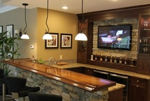 Bars for entertainment / by Cheryl Draa Interior Designs