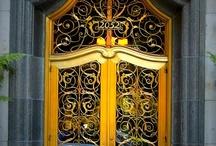 INVITING DOORWAYS  -- ENTRY / by Sandra Glenn