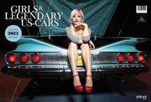 """""""Girls & legendary US-Cars 2013"""" / Fotos: www.carloskella.de Erhältlich bei www.sway-books.de"""