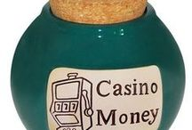 Funny Money Jars and Plaques