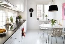 Decoración: Cocinas / Ideas para decorar o reformar tu cocina. Organización de la cocina.