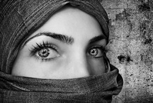 PEOPLE: MYSTERIOUS EYES FROM THE WORLD / by Marina S.