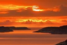 NATURE: SUNSETS & SUNRISES / by Marina S.