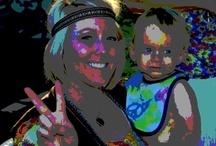 Trippy Hippies / Hippie-themed birthday party