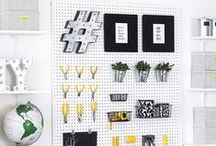 Organize / Ideas for organizing and storage.