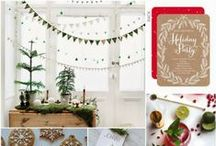 Holiday Party Inspiration  / Get ready for the holidays and browse through some of our favorite pins that will help you complete any party.