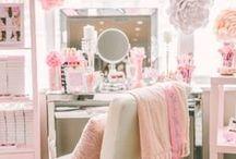 Decoración: Tocador / Ideas para decorar o hacer un tocador para tu habitación. #Vanity
