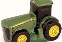 John Deere and Farmall Coin Banks