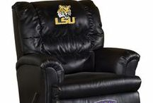 LSU Tigers Stuff / Geaux Tigers!   Express your LSU spirit with one of our exceptional logo items, from home decor to jewelry, from bar ware and dinner ware to tailgating essentials. www.collegelogostuff.com