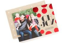 Bold Expressions Holiday Cards / Dare to be bold this Christmas with one of our bright holiday designs. All these holiday cards (and more!) available at tinyprints.com
