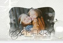 Holiday Card Trim Options / Add an extra special touch to your holiday cards this season by choosing scallop, bracket, ticket, square or rounded corner trim options. All trims are available on tinyprints.com.