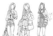 [Fashion Illustrations] / by Amanda Vasicek