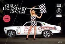 Girls & legendary US-Cars 2015 Calendar / Photography: Carlos Kella // Publishing House: SWAY Books // Order:  http://www.sway-books.de/kalender.html
