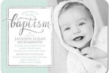 Religious Celebrations / Take a look at some of our top Baptism & Christening, First Communion, Confirmation Invitations and more. All of these designs are available on tinyprints.com!