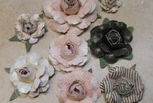 THE CUTTING CAFE - PAPER FLOWERS SET / This cutting file set is perfect for making one of a kind paper flowers...it comes in PDF, SVG, MTC and WPC formats. Retails for only $1.25 http://thecuttingcafe.typepad.com/the_cutting_cafe/2014/02/paper-flower-template-and-cutting-file.html