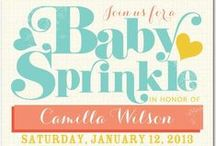 Ann Kelle + Baby Boy / Having a little boy? Tiny Prints designer Ann Kelle shares all things baby, including her baby shower invites, birth announcements and the inspiration behind them. All of these designs and more are available on tinyprints.com