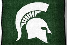 Michigan State Spartans Stuff / Looking for something special for your next tail gate party?  Or a great gift for a Michigan student, graduate, or alum?  Visit www.collegelogostuff to see our unique selection of high quality gift and home decor items for fanatical Spartans fans!
