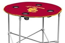 USC Trojans Stuff / Go Trojans!  Decorate your home, office, or dorm room with these unique USC Trojans products.  Lots of great tailgating items to add spirit to your next party. Visit www.collegelogostuff.com