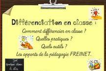 Pédagogie Freinet / Réflexions pour mettre en oeuvre la #pédagogie #freinet : plan de travail, conseil coopératif #coopération