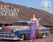 """GIRLS & LEGENDARY US-CARS 2018 Calendar by Carlos Kella / Der """"Girls & legendary US-Cars2 2018 Wochenkalender von Carlos Kella ist beim SWAY Books Verlag erschienen. www.sway-books.de // www.carloskella.de"""