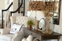 Real Decorating / I love changing up my home decor. I usually do things diy because it keeps me on budget. So Pinterest helps me out! Tons of great diy home decor ideas along with decorating and interior design inspiration! ♥♥♥