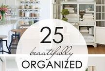 Real Organization / Oh my...I love organization! I pin all kinds of organizing ideas for the whole house and to help organize my life as well. Fun, fun, fun!