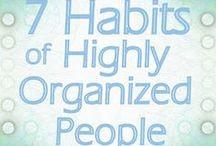 Organization / An organized life is a stress free life. / by Harley Caldwell