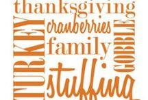 Thanksgiving  / by Sophia Batalau