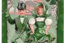 St. Patrick's Day Postcards & Collectibles