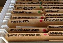 Organization is Key! / by Sophia Batalau