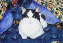 cat art / by Cynthia Wilson