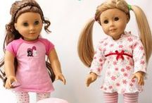 "American Girl Doll Ideas / We are a great group of bloggers who pin all kinds of American Girl Doll Ideas. We got everything 18"" doll related from diy crafts, to sewing patterns, to kids crafts and gift ideas. The doll fun and imagination just don't stop! If you would like to be added to this board to pin and you are a blogger, please email KC at admin@realcoake.com.  Please pin only American Girl Doll related items. All others will be deleted."