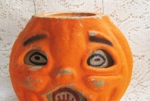 Halloween  / Antiques and collectibles at Halloween Time. / by Vintage Touch