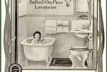 Vintage & Funky Bathrooms / by SimpleSue Hughes