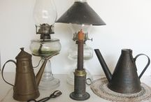 Let the Light Shine....Antique Style / Before Electricity, we did not just turn on a switch  / by Vintage Touch