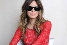 Fashion - Celebrity Style / The inspiring styles of celebrities.