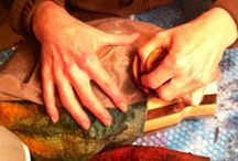 Felting Tips and Techniques / Tips, techniques, tutorials, and lessons in wet felting and nuno felting from Robbin Firth of the HeartFelt Silks studio. Creator of the Palm Washboard felting tools. For more information, visit http://www.heartfeltsilks.com / by HeartFelt Silks