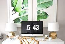 FLAIR   HOME OFFICE / De mooiste plekjes in huis, waar jij iedere dag wonderen kunt verrichten!