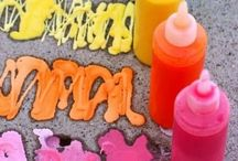 Family Crafts + Outdoor Fun!