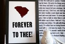 Hail Thee Carolina. / Forever to Thee! / by Alex